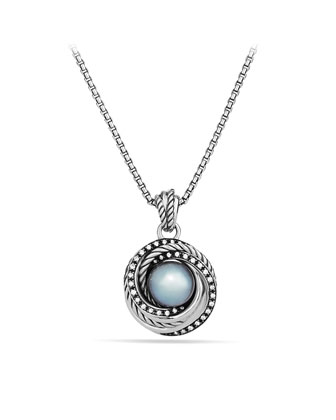 Tahitian Pearl Crossover Necklace, 18