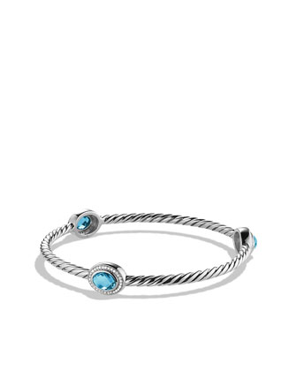 Color Classics Bangle Bracelet, Blue Topaz