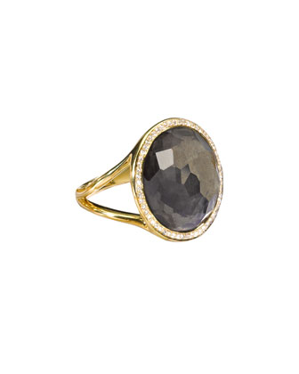 Pyrite Lollipop Ring, Mini