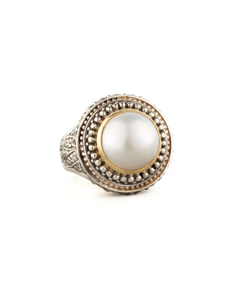 Mabe Pearl Dome Ring