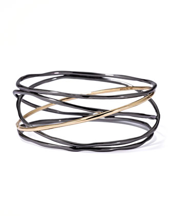 Notte Open-Wire Bangle