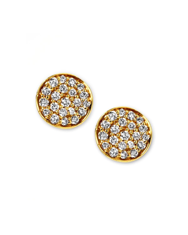 Stardust Mini Diamond Stud Earrings