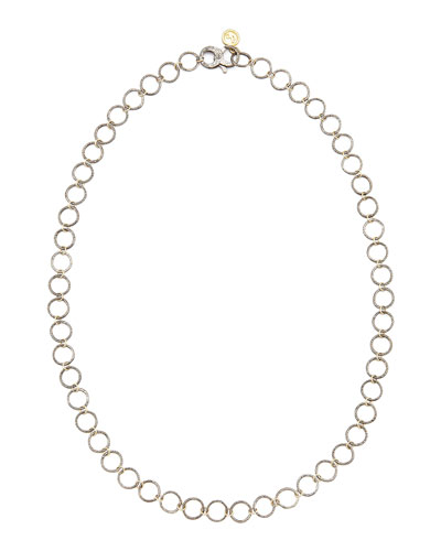 Noir Yellow Gold Necklace, 24