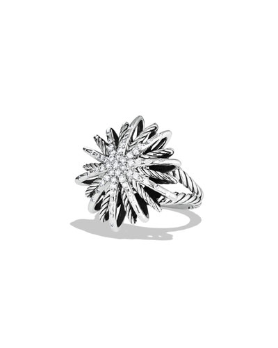 Starburst Medium Ring with Diamonds
