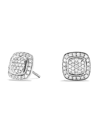 Petite Albion Full Pave Earrings