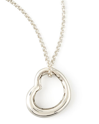 Heart Pendant on Chain Neck