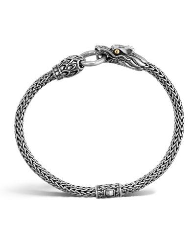 Naga Dragon Station Chain Bracelet