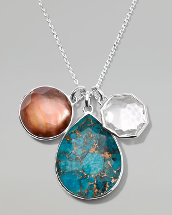 Wonderland Triple-Pendant Necklace
