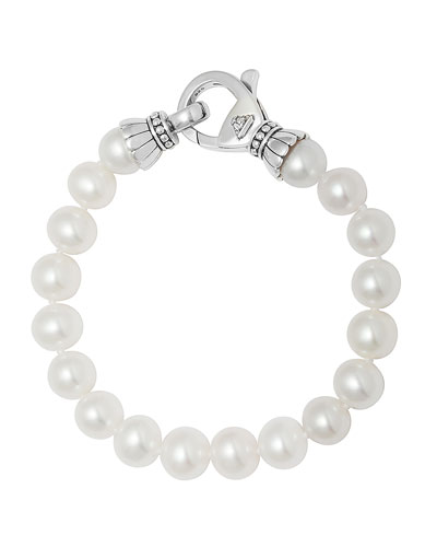 Luna Single-Strand Pearl Bracelet