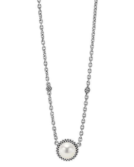 Lagos Caviar Pearl Necklace