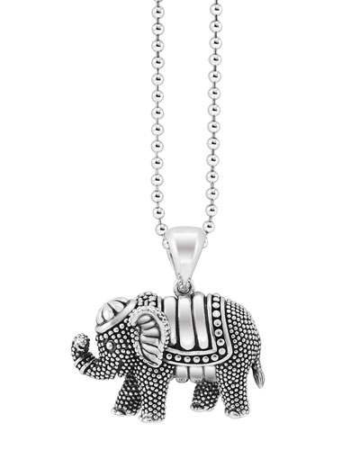 Rare Wonders Elephant Pendant Necklace
