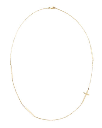 Blake Cross Bar Necklace