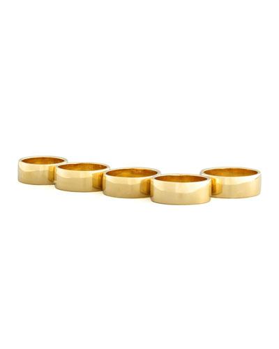 Five-Finger Ring, Yellow Golden
