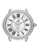 16mm Serein Diamond Watch Head, Steel
