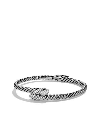 Willow Single-Row Bracelet with Diamonds