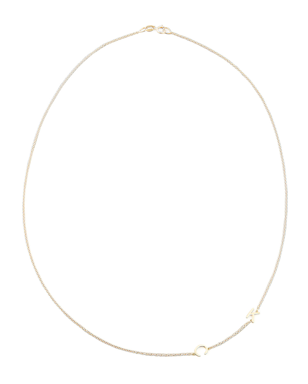 Mini 2-Letter Personalized Necklace