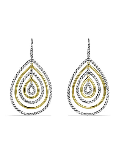 Mobile Drop Earrings with Gold