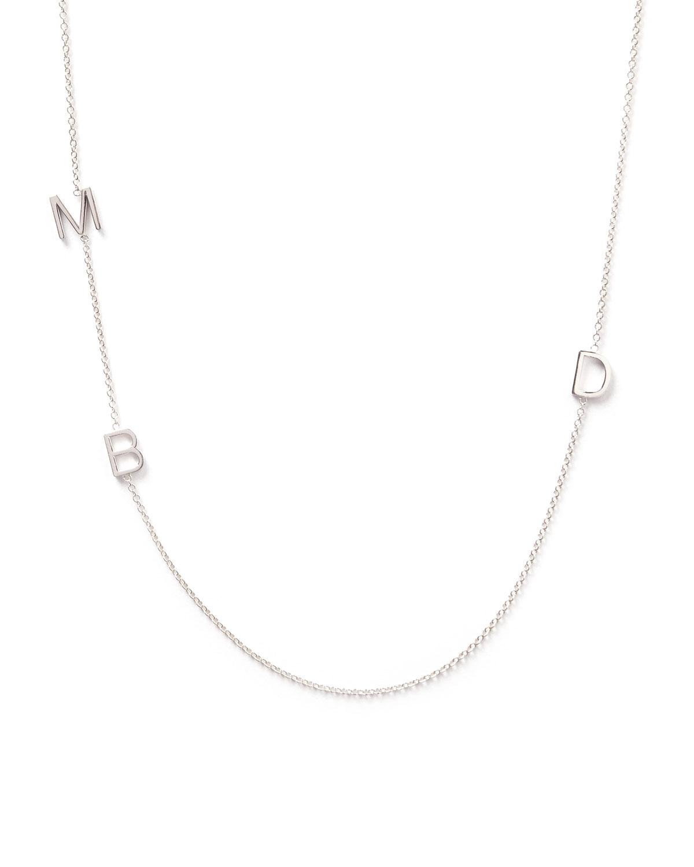 Mini 3-Letter Personalized Necklace