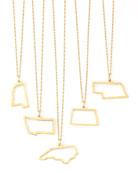 Maya Brenner 14k Gold Necklace, M-W & DC