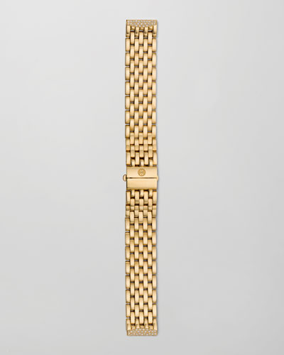 16mm Urban Mini Diamond Watch Bracelet, Gold