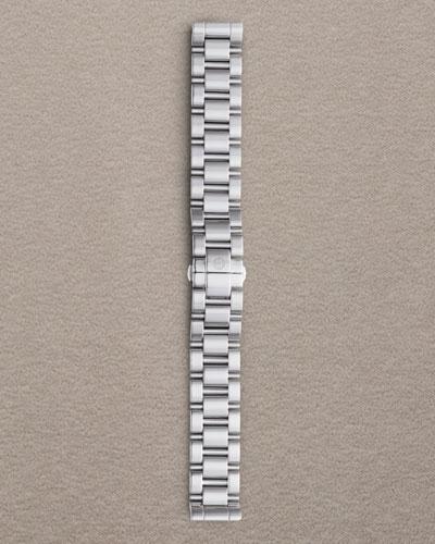 18mm Deco 3-Link Stainless Steel Bracelet