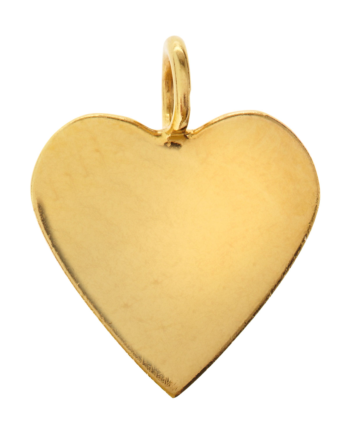 Lily Heart Charm