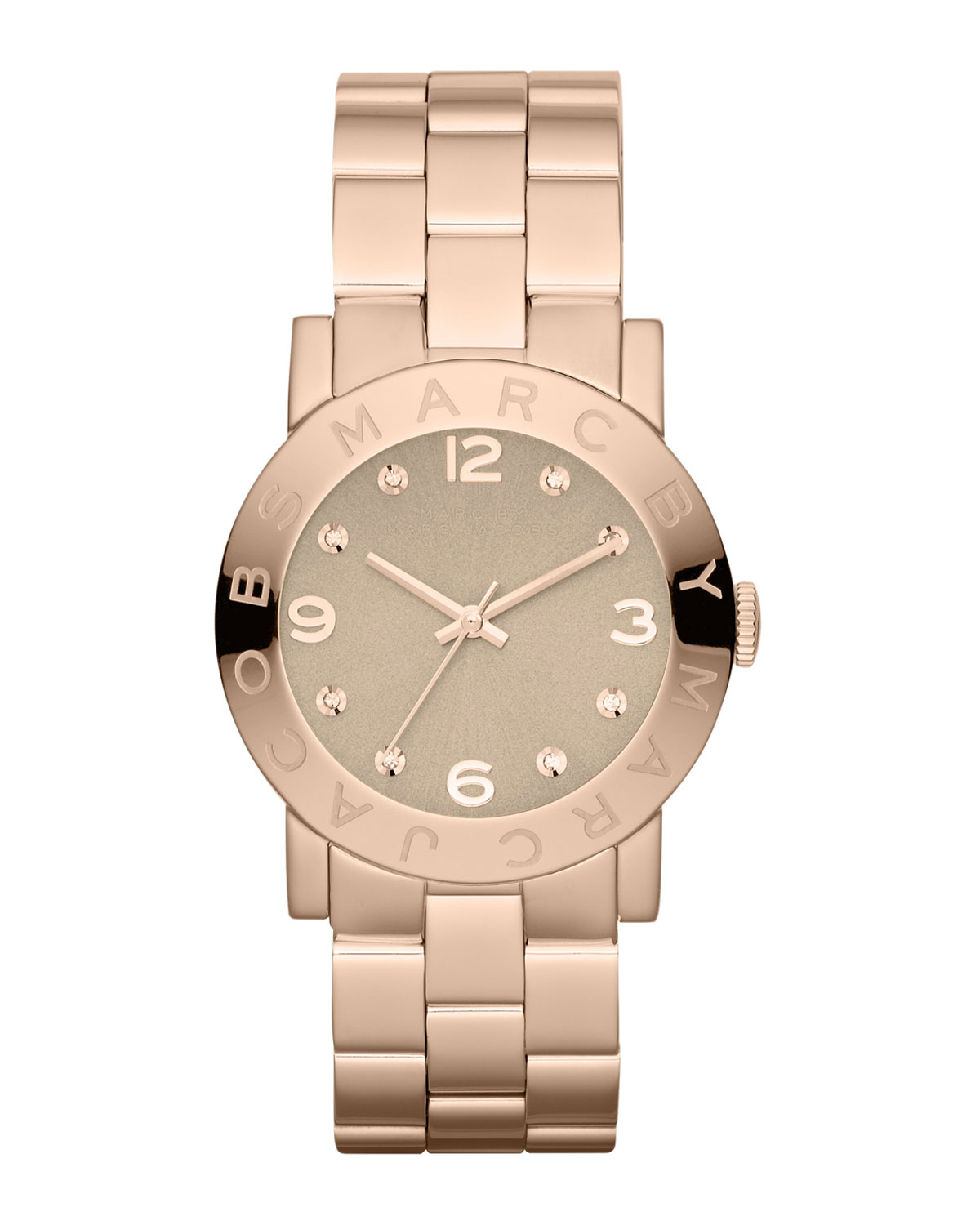 AMY ROSE GOLD ANALOG WATCH