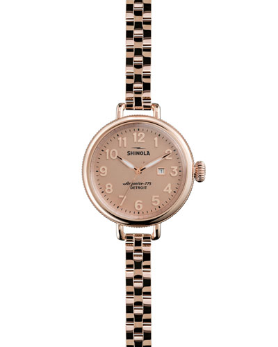 The Birdy Rose Golden Watch, 34mm