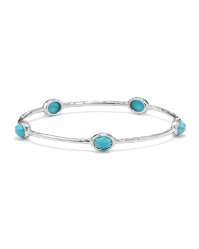 37c1ecd7051 Quick Look. Ippolita · Sterling Silver Rock Candy 5-Stone Bangle in  Turquoise ...
