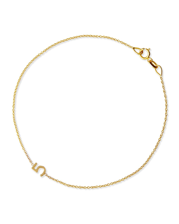 Mini Number Bracelet