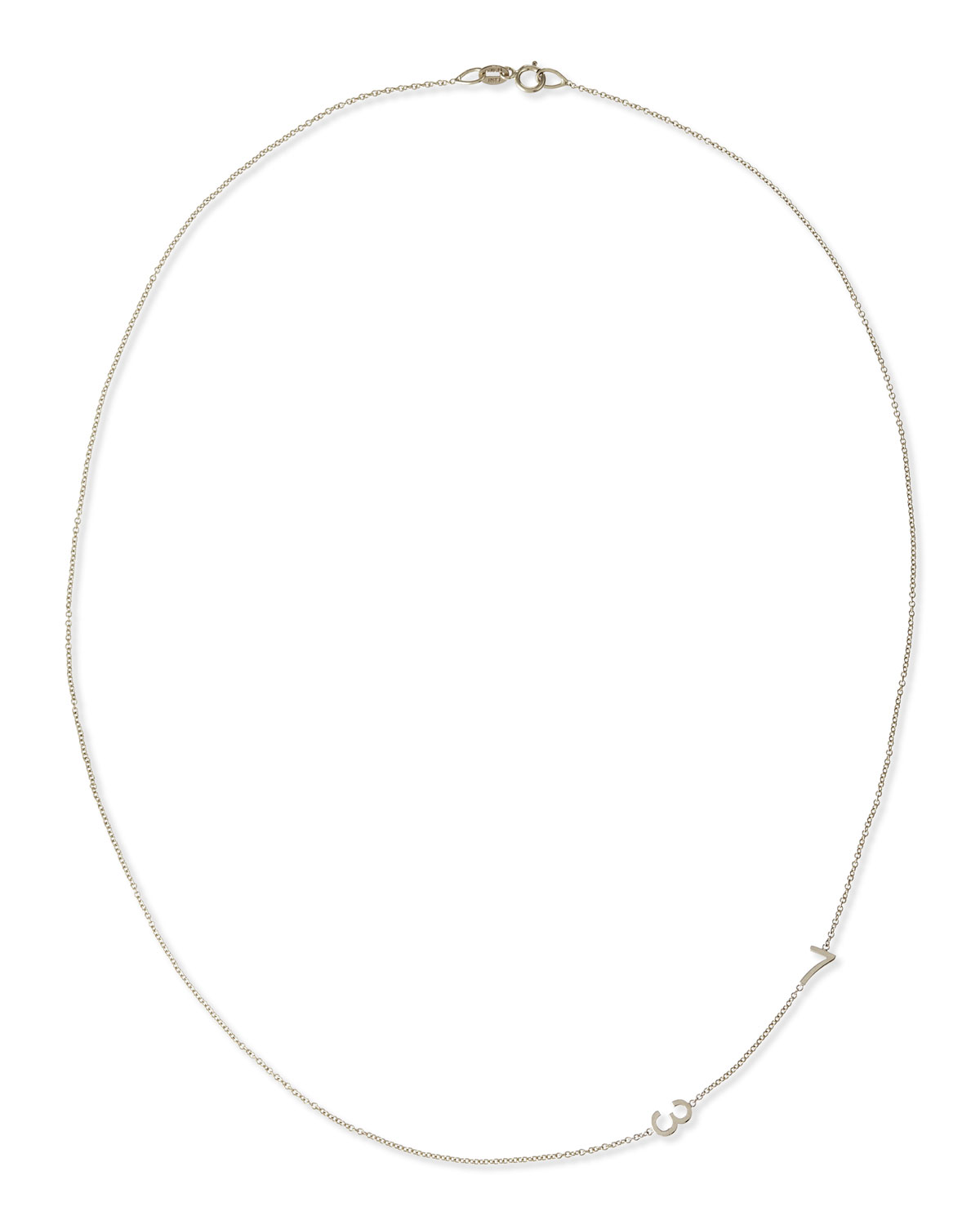 Mini 2-Number Necklace