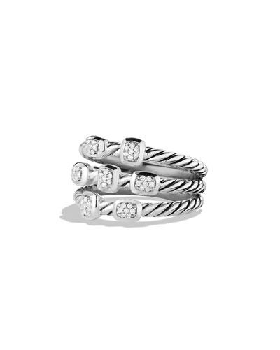 Confetti Ring with Diamonds