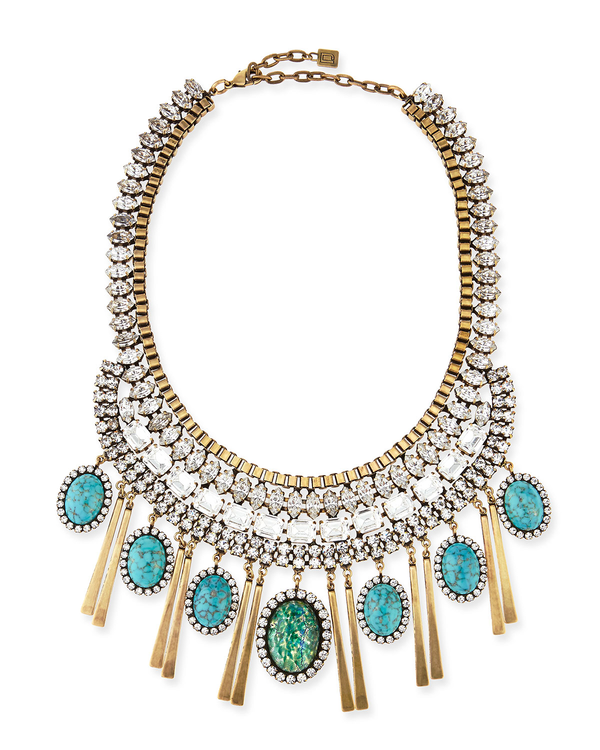 Costella Turquoise Statement Necklace
