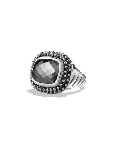 Osetra Ring with Hematite