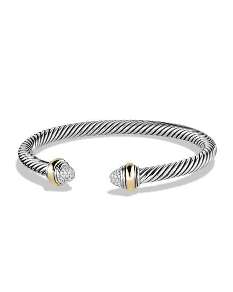 David Yurman Color Classics Bracelet with Diamonds and Gold