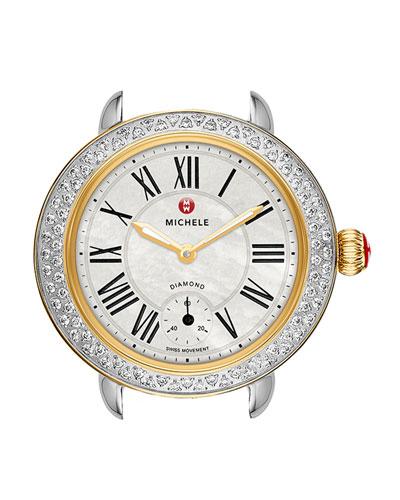 12mm Serein  Diamond Two-Tone Watch Head