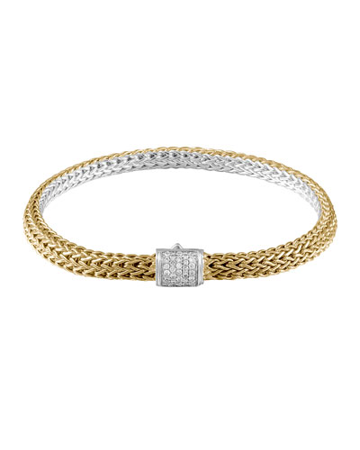 Classic Gold & Silver Extra Small Reversible Bracelet