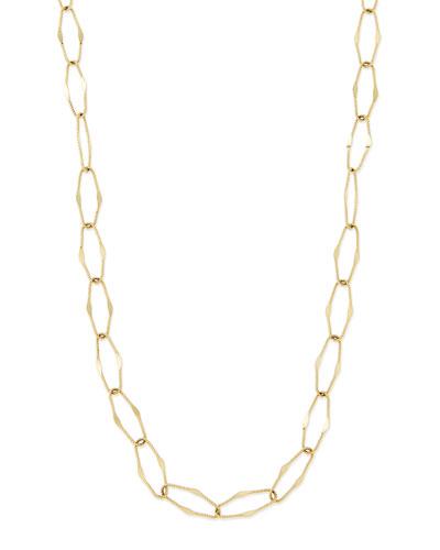 Spellbound 14k Gold Drama Necklace, 36