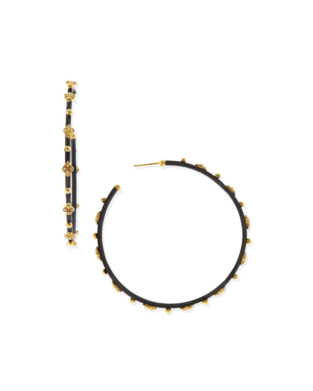 Diamond Crivelli Large Hoop Earrings