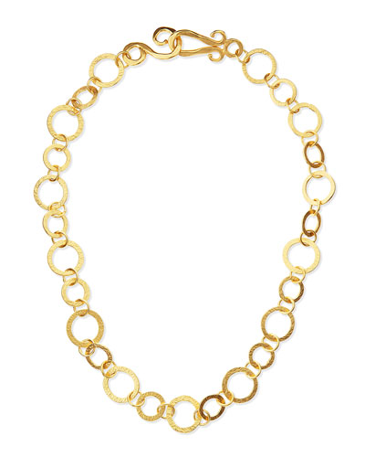 Regency 24k Gold-Dipped Necklace, 18