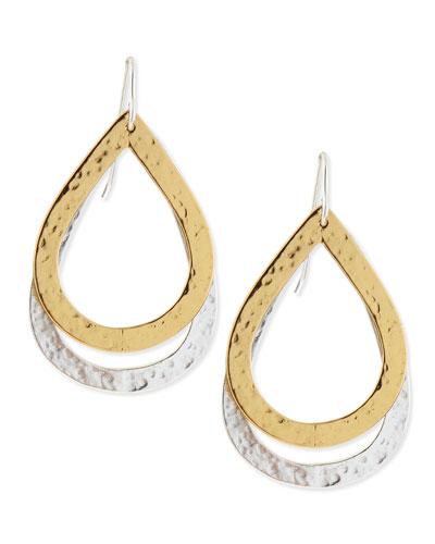 Paris Double-Drop Medium Earrings