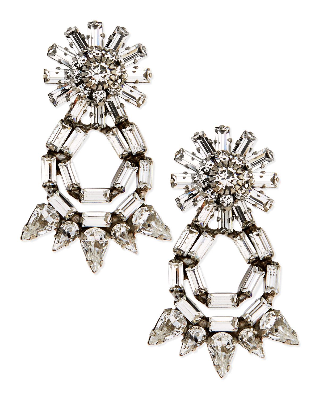 Grace Crystal Statement Earrings