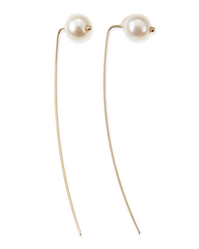 14k Gold Akoya Pearl Earrings