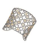Crystal Studded Spur Cuff