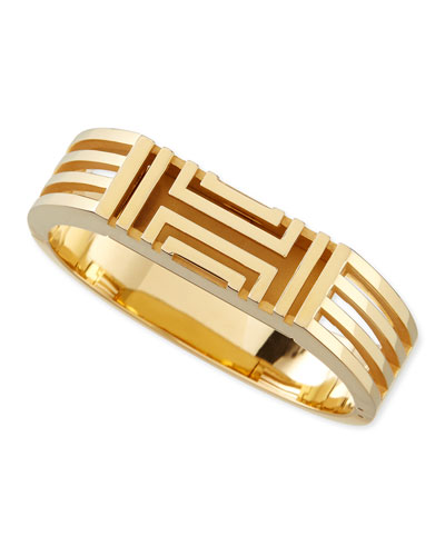 Gold-Plated Fitbit-Case Bracelet