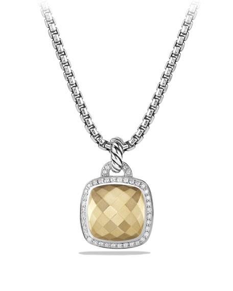 David Yurman Albion Enhancer with Gold and Diamonds