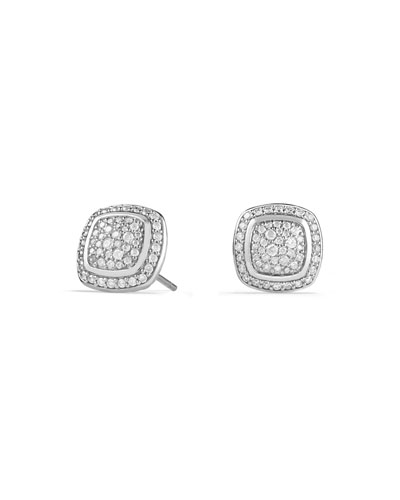 Albion Stud Earrings with Diamonds