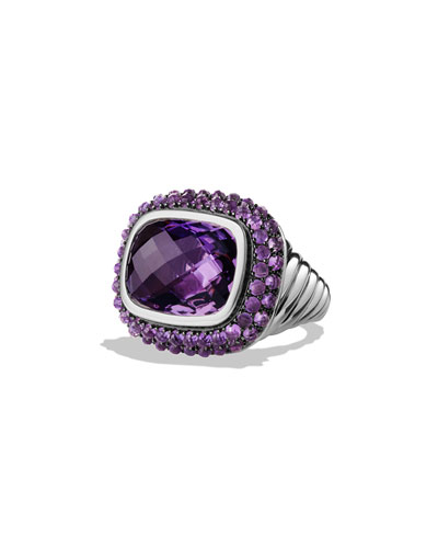 Osetra Ring with Amethyst