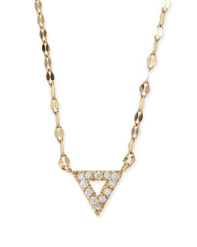 Diamond Spike Pendant Necklace