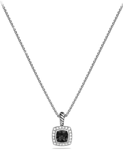 Albion Necklace with Onyx and Diamonds